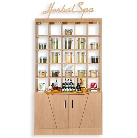 Picture of Double Herbal Display Cabinet