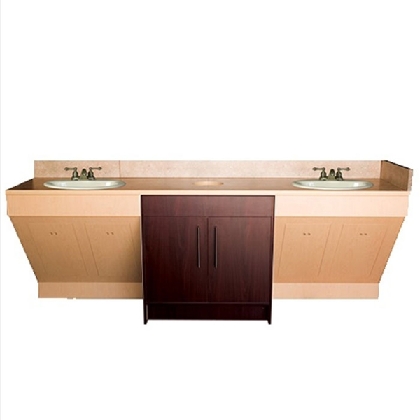 Picture of Contemporary Double Sink Cabinet