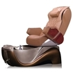 Z450 pedicure spa in cafe latte base & caramel top chair