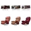 massage chairs and pedicure bases color options