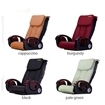 D3 pedicure chair leather color options
