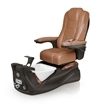 Lexor Infinity pedicure spa in espresso base and cappuccino top chair