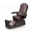 Liberte pedicure spa in espresso base and walnut chair