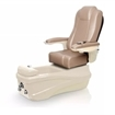 Versas pedicure spa in champagne base and acorn chair