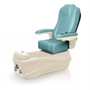 Versas pedicure spa in champagne base and neptune chair