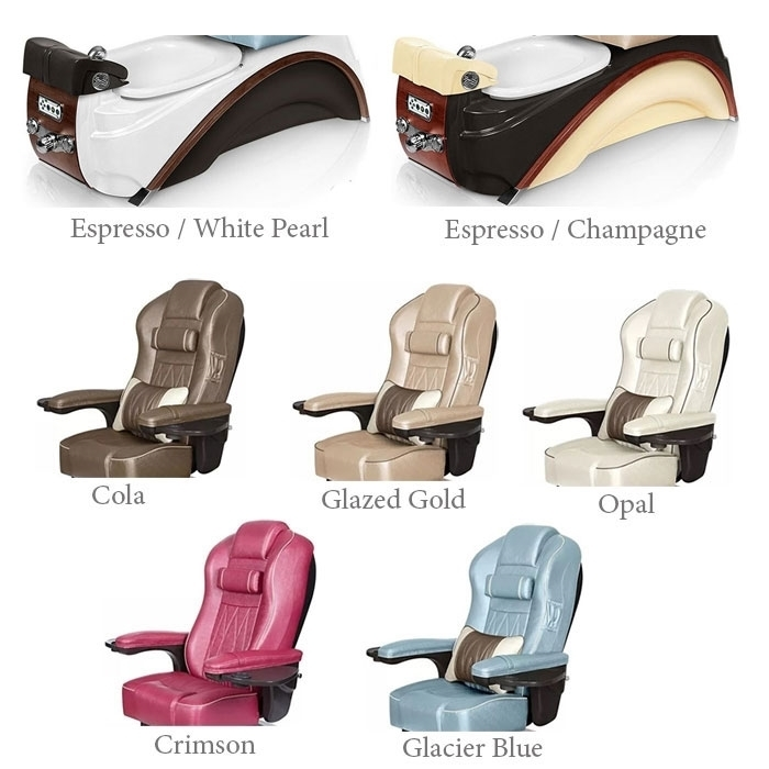 Elite pedicure spa base color options
