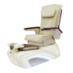 NB-700 pedicure spa in cream / gold base and iRest cream massage chair