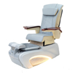 NB-700 pedicure spa in silver base and iRest silver massage chair