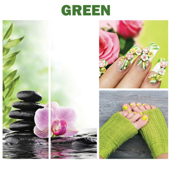 Picture of Green Canvas Murals