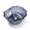 Nickel Scallop Bowl For ANS Pedicure Chairs