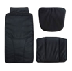 Black Pedispa Of America 777 pedicure chair cushion set