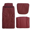 Burgundy Pedispa Of America 777 pedicure chair cushion set