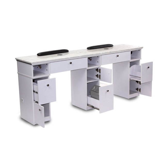 Picture of Sonoma Double Manicure Table With Exhaust
