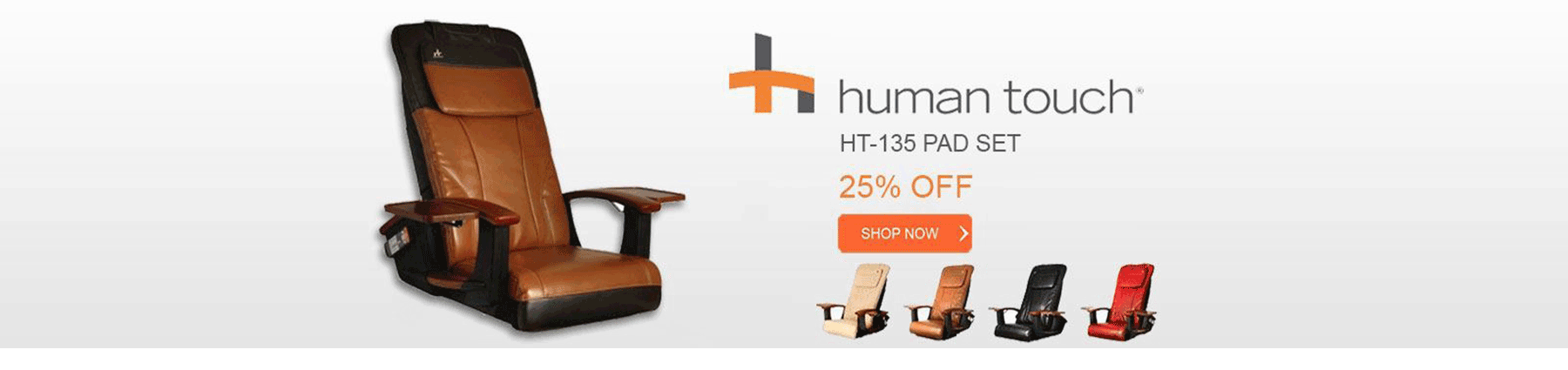 Human Touch HT-135 cushion pad set