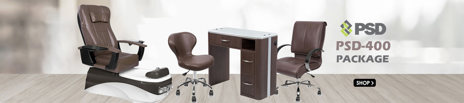 PSD400 Pedicure Chair Package