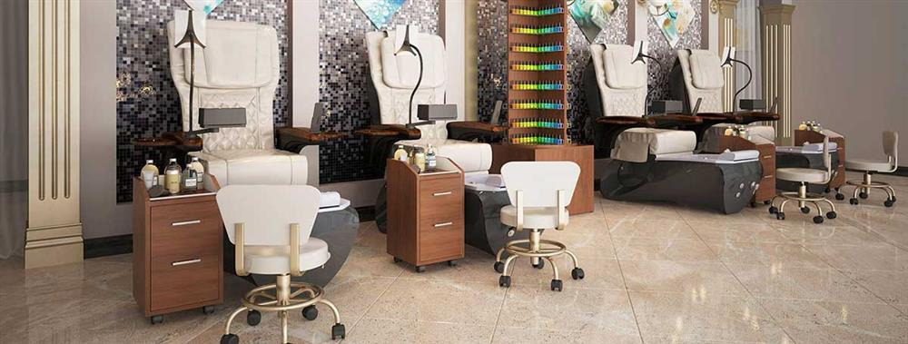 Ceneta pedicure chair banner