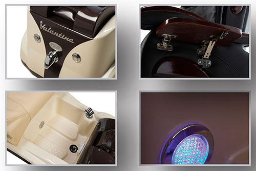 Chocolate SE spa chair featured images