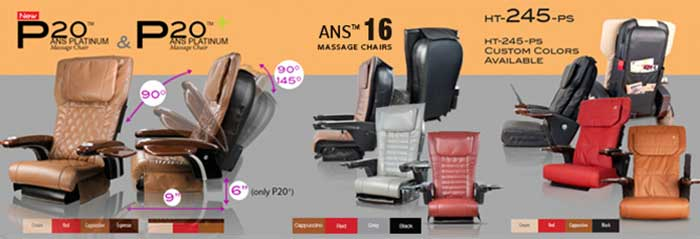 Panther pedicure massage chair