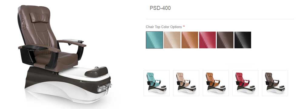 PSD-400 pedicure chair review